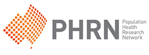 Population health research network logo